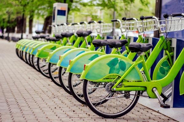 Mobilité verte location de vélo
